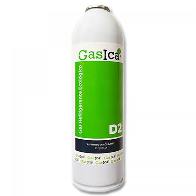 GAS ECOLOGICO D2 312g. SUSTITUTO R12,R134a EQUIVAL. 831.26 g - R134a